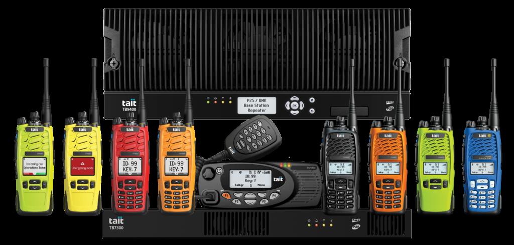 Tait P25 radios