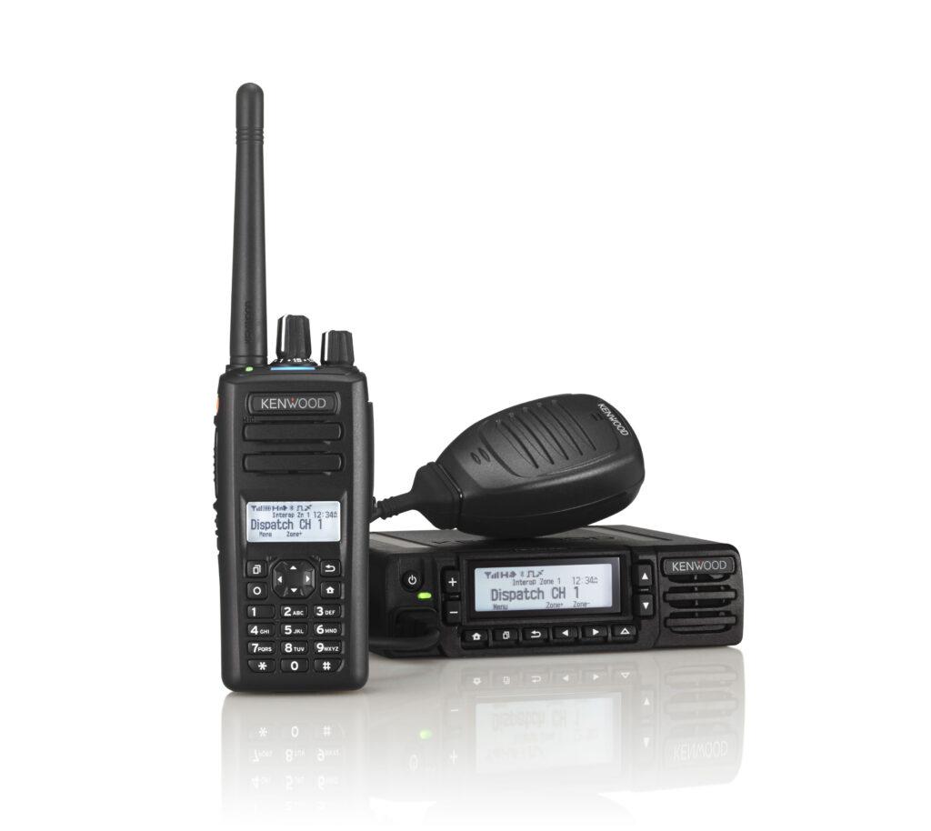 Kenwood NX-3000 series digital radios with DMR or NXDN capability